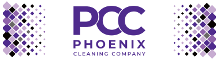 phoenx commercial cleaning mobile logo