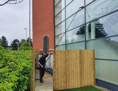 Why we clean windows using the 'Pure water pole fed system'