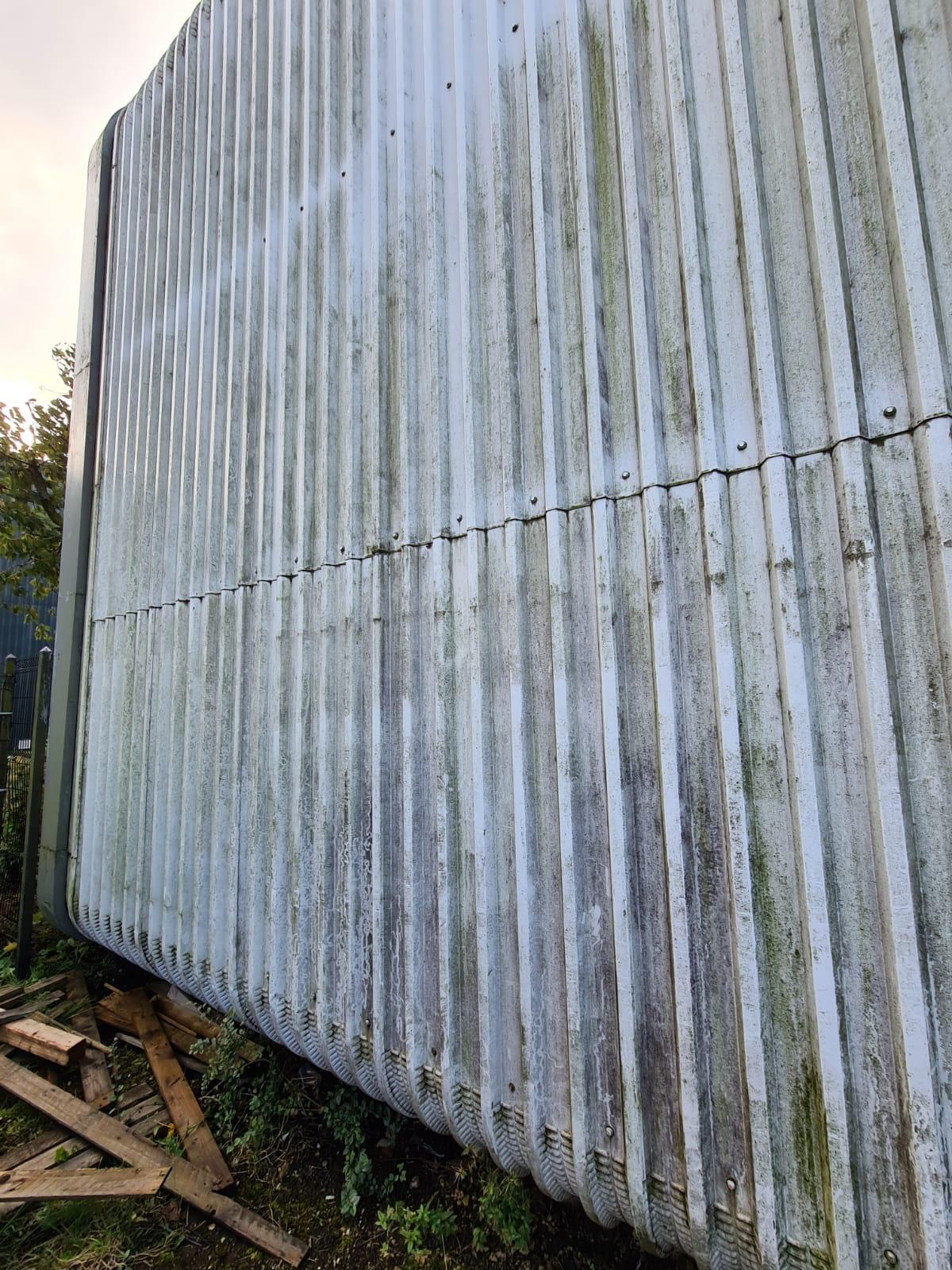 cladding cleaning, Gildersome. PCC