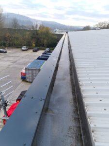 Gutter Clearing, Warehouse. Bradford