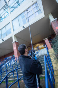 commercial window cleaning leeds
